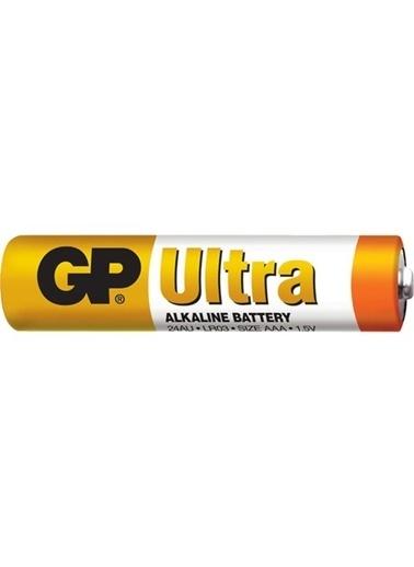 GP Ultra Alkalin Pil AAA İnce Kalem 4' Lü Blister Renkli